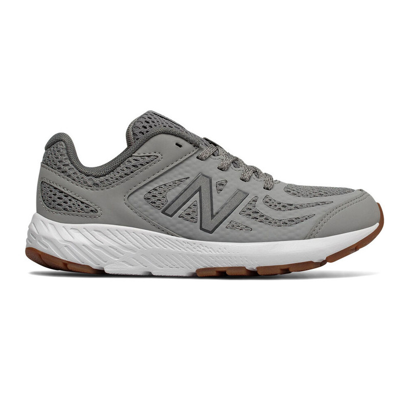 New Balance Youth 519v1 Sneaker - Grey - KJ519COY