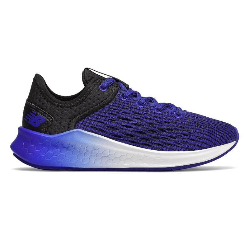 New Balance Kid's Fresh Foam Fast - Blue / Black - YKFSTUV - Profile