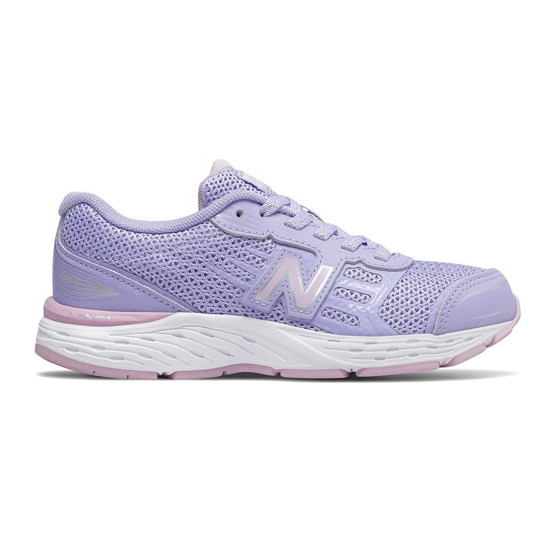 New Balance Kid's 680v5 (Youth) - Purple - YP680CS - Profile
