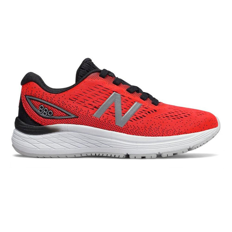 New Balance 880v9 Kid's Youth Running - Energy Red / Black - YP880ER9 - Profile