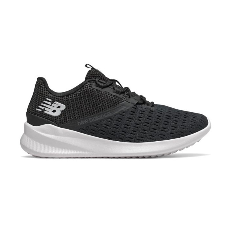 New Balance Women's CUSH+ District Run - Black - WDRNBK1 - Profile