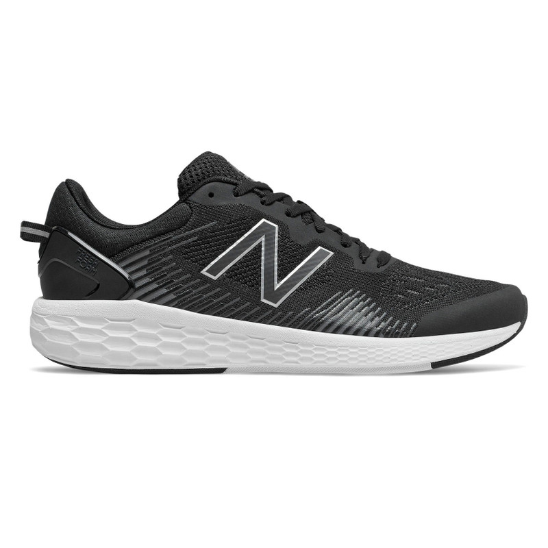 New Balance Men's Fresh Foam Cross TR - Black with Magnet & White - MXCTRLB1 - Profile