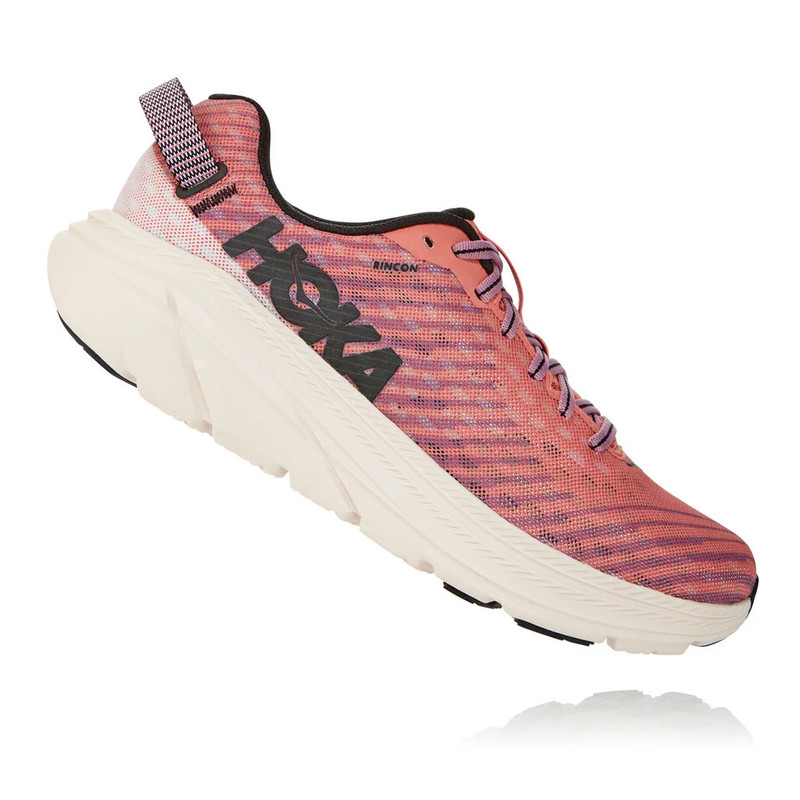 HOKA ONE ONE Women's Rincon - Lantana / Heather Rose - 1102875-LHRS - Profile