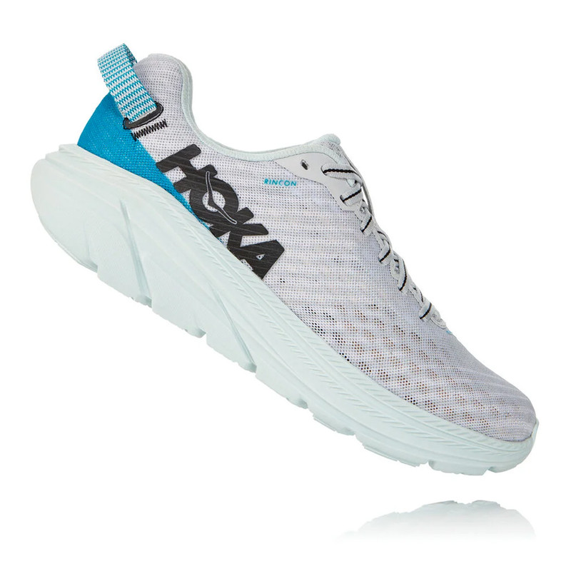 HOKA ONE ONE Women's Rincon - Lunar Rock / Nimbus Cloud - 1102875-LRNC - Profile
