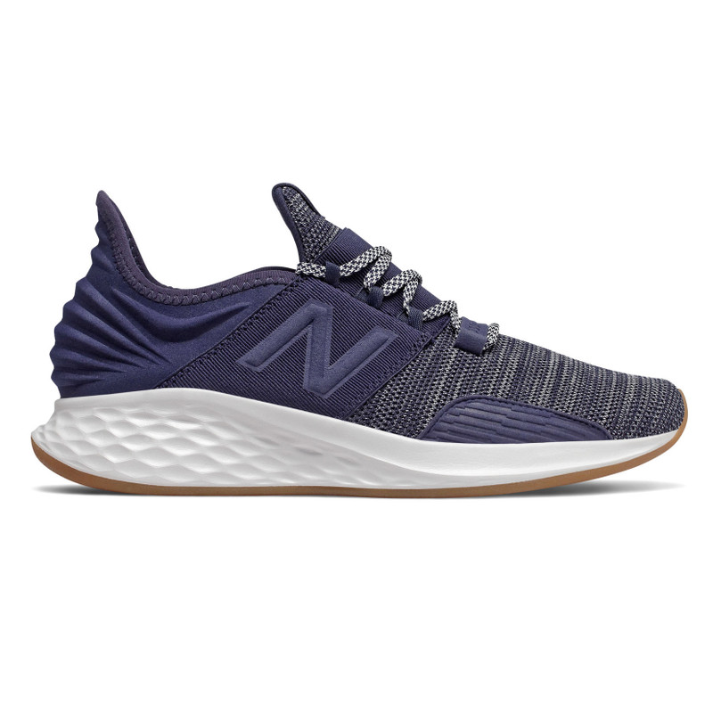 New Balance Men's Fresh Foam Roav Knit - Pigment with Summer Fog - MROAVKN - Profile