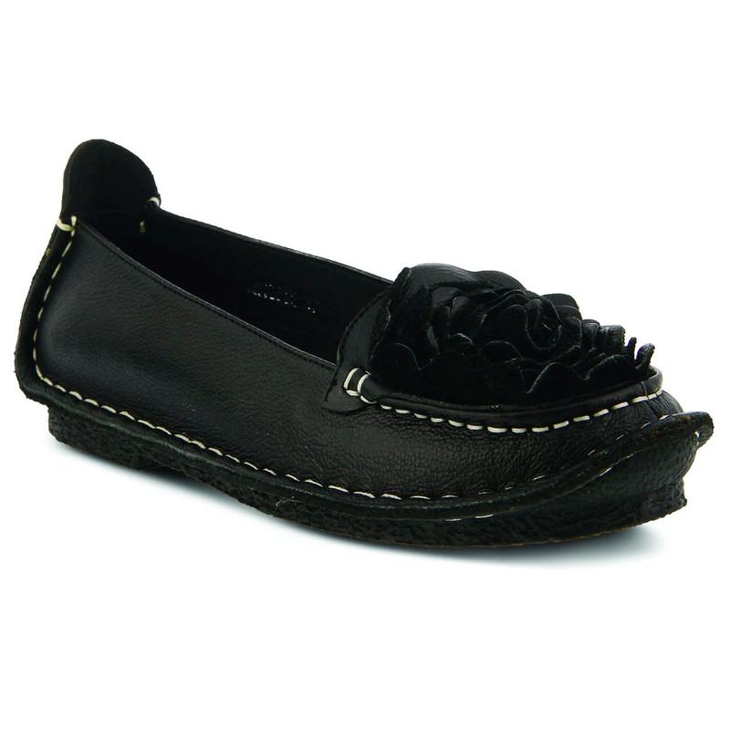 Spring Step Women's Dezi - Black - DEZI/BLACK - Angle