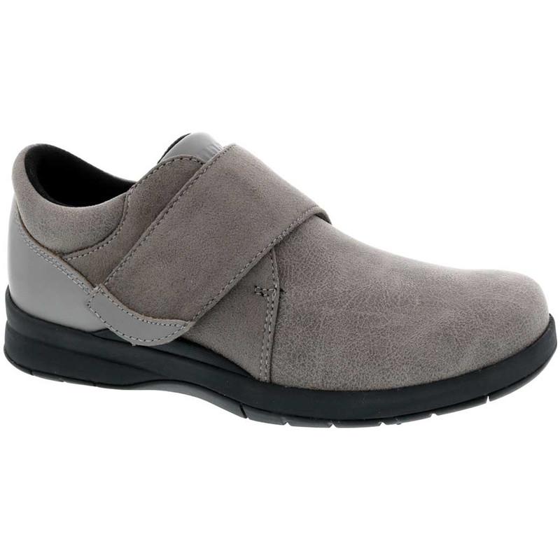Drew Moonwalk - Grey Stretch Leather - 14100-9T - Main