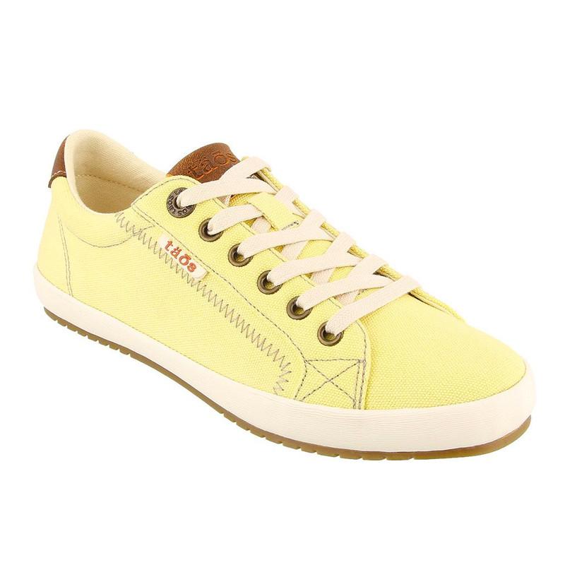 Taos Footwear Women's Star Burst - Yellow / Tan - STB-13834-YT - Angle