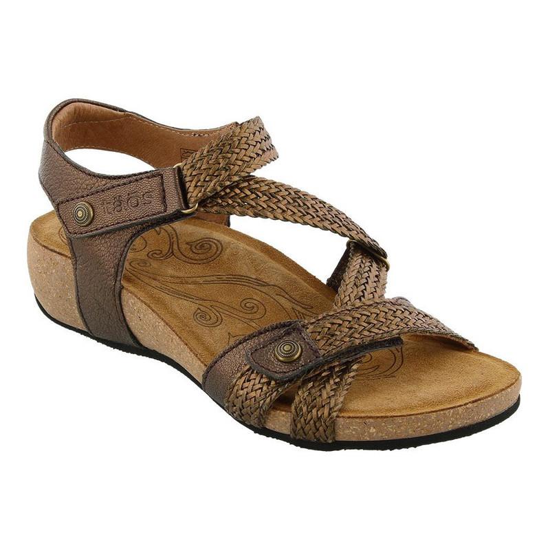 Taos Footwear Women's Trulie - Bronze - TRU-16406-BRZ - Main