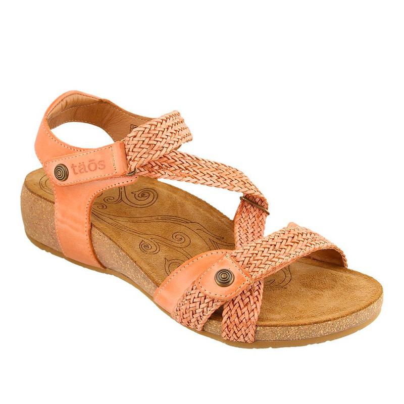 Taos Footwear Women's Trulie - Cantaloupe - TRU-16406-CANT - Angle