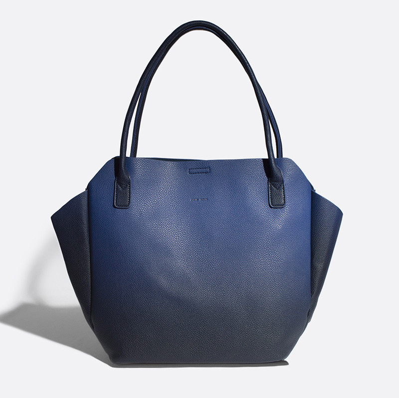 Pixie Mood Rachel Tote Small - Ombre Navy - Profile