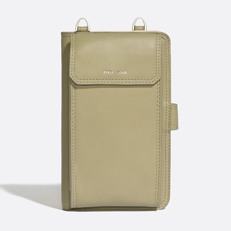 Pixie Mood Rae Phone Crossbody - Sage - Profile