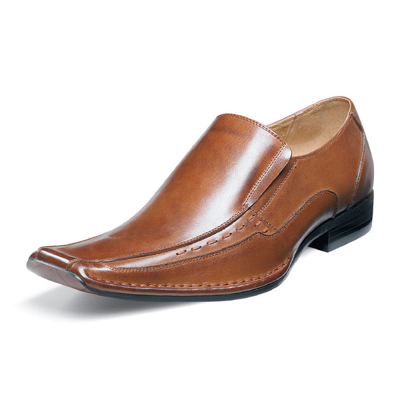 Stacy Adams Men's Templin - Cognac - 24507-221 - Angle