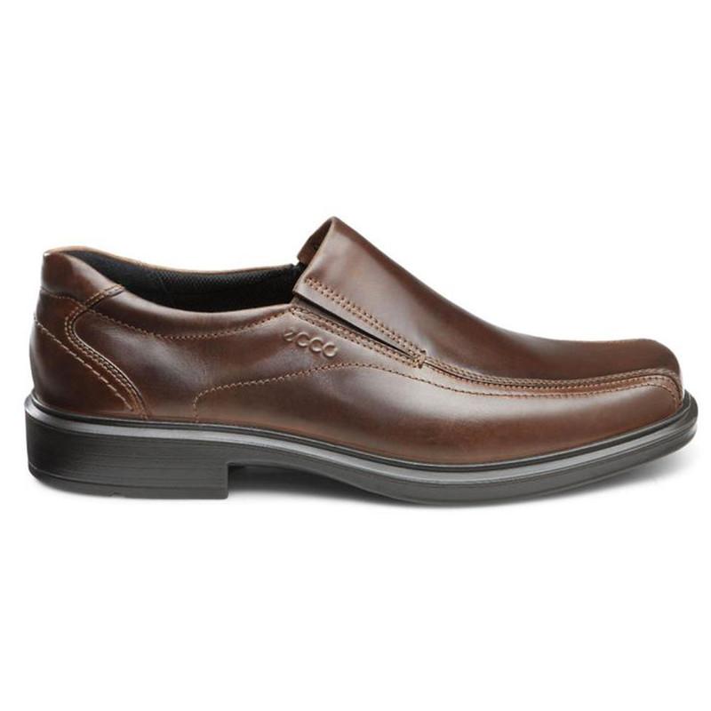 Ecco Men/'s 50134 Helsinki Black Leather Slip On Shoe