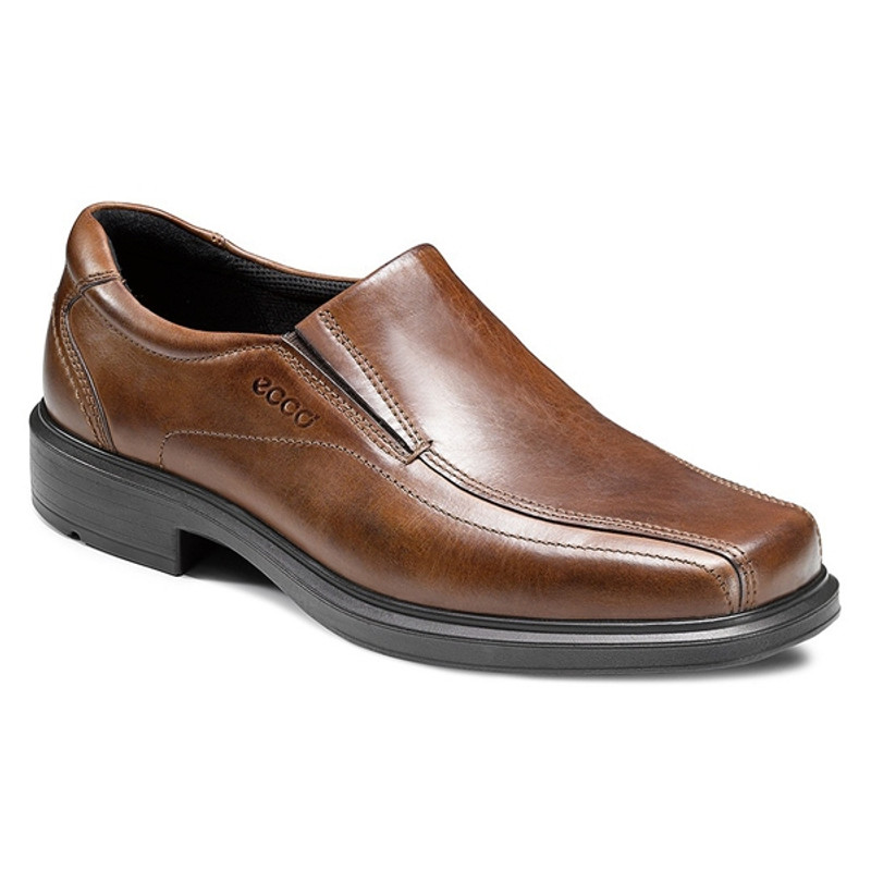 ECCO Men's Helsinki Slip On - Cocoa Brown - 50134-01482 - Angle