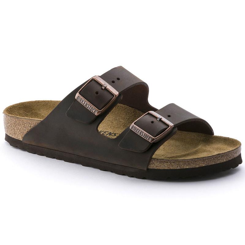Birkenstock Arizona - Habana Oiled Leather (Regular Width) - 52531 - Main