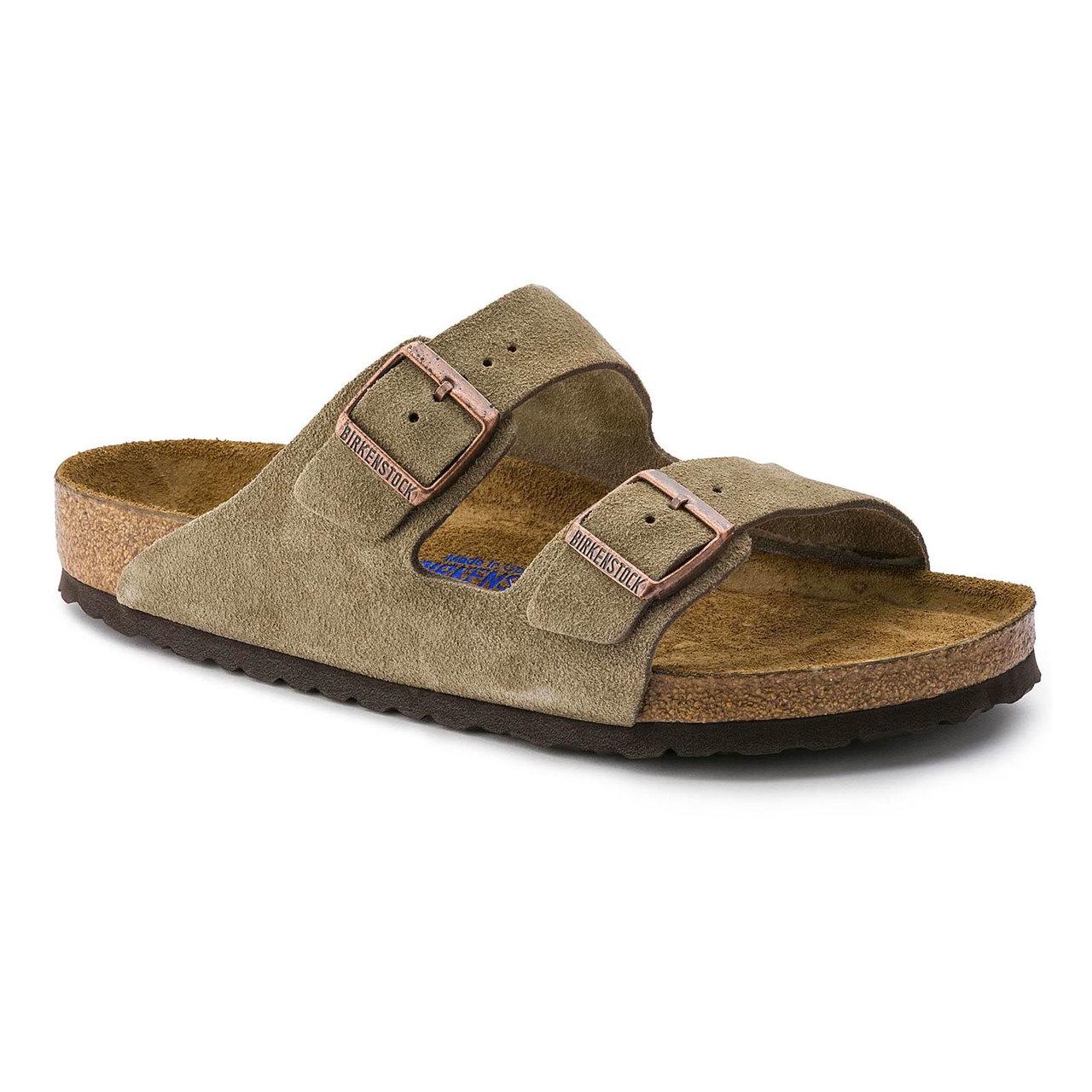 8e412c88d Birkenstock Arizona Soft Footbed - Taupe Suede (Regular Width)