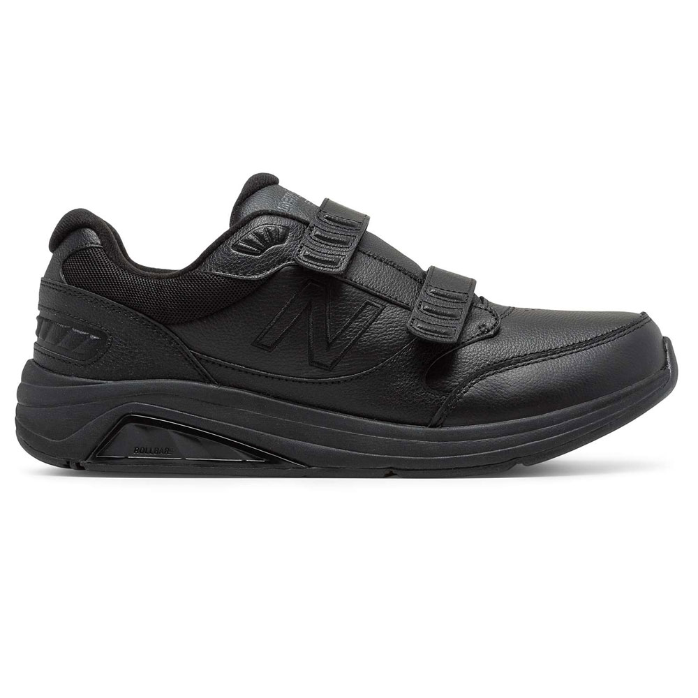 new collection structural disablities popular design New Balance 928v3 Men's Hook and Loop Leather - Black