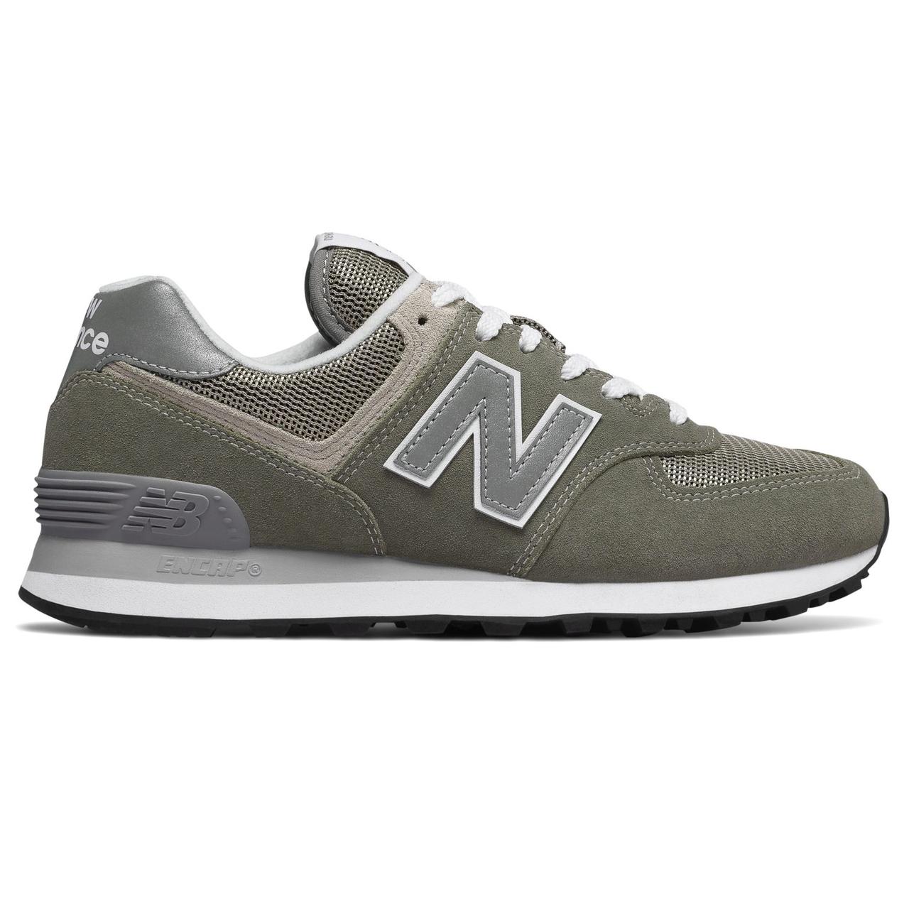 quality design 62ce0 3c213 New Balance 574 Women's Classics - Grey / White