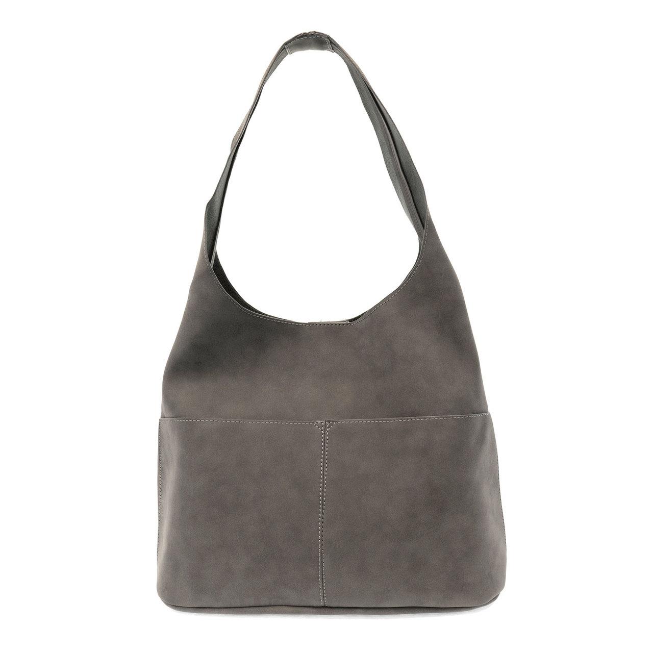 79bc7de0ed03 Joy Susan Jenny Hobo Handbag - Dark Grey