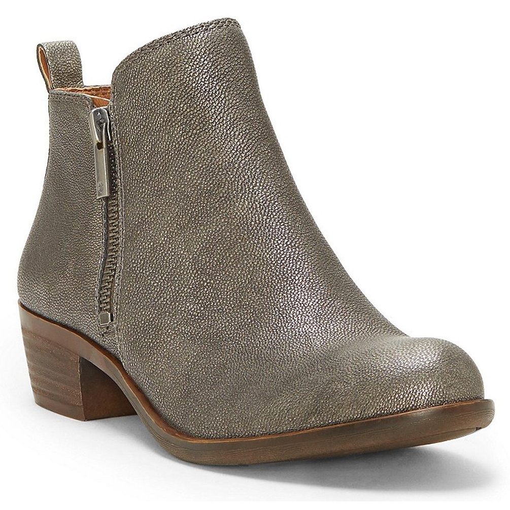 f40ba852c8f1 ShoeStores.com | Lucky Brand Basel Bootie - Pewter