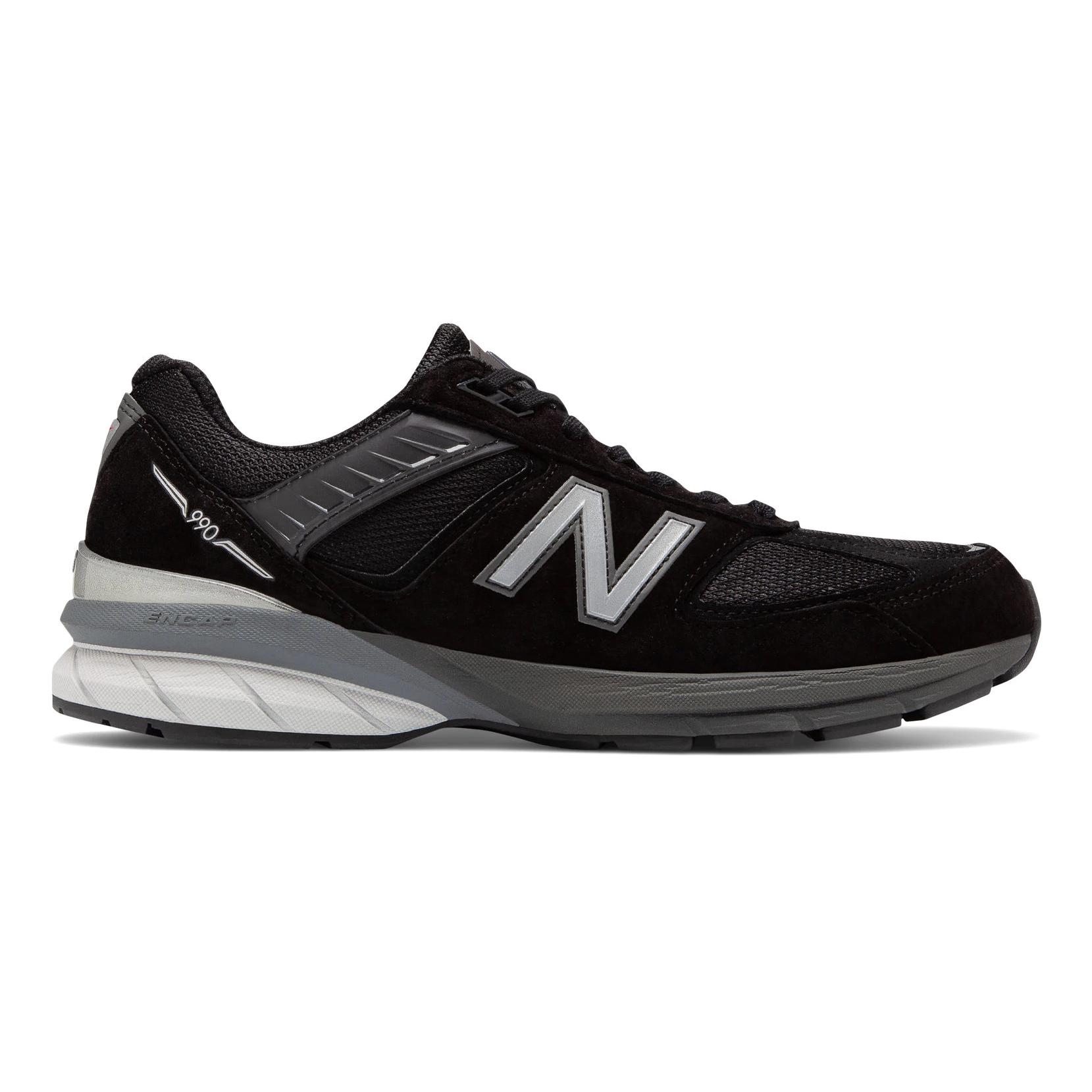 New Balance 990v5 Men's Running - Black / Silver