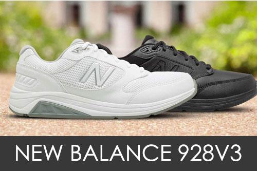 New Balance 928v3 Compared to 928v2 & 928v1
