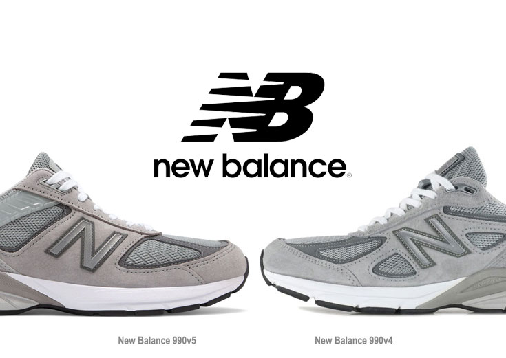 best sneakers dfc64 272b8 New Balance 990v5 vs 990v4 - Differences Explained ...