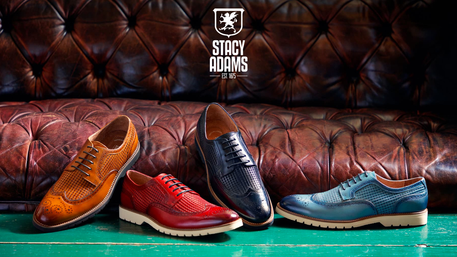433657dcbf63 Make a statement wearing legendary dress oxfords or trendy sneakers from Stacy  Adams. Men who know style and Stacy Adams have been a perfect fit for over  ...