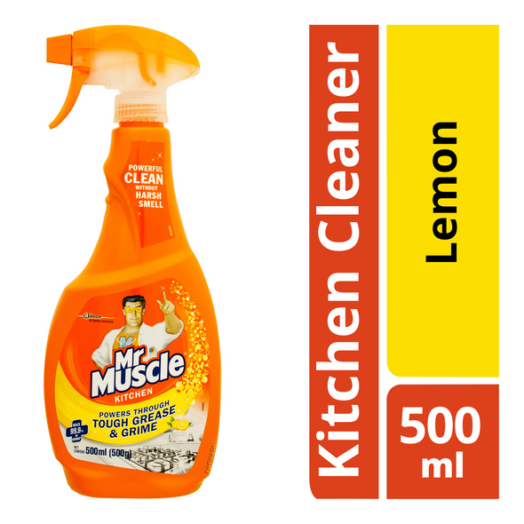 MR MUSCLE KITCHEN CLEANING SPRAY 500ML