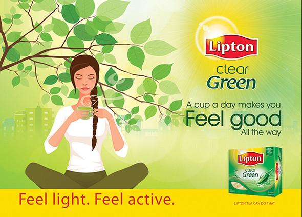LIPTON GREEN TEA BAGS