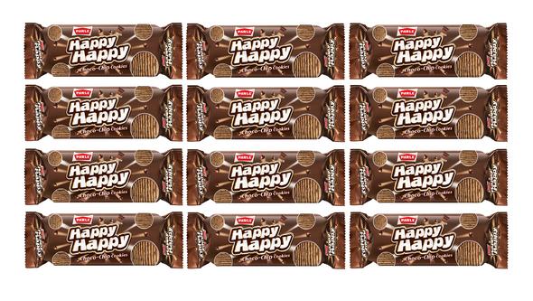 PARLE HAPPY CHOCO CHIP COOKIES PK12