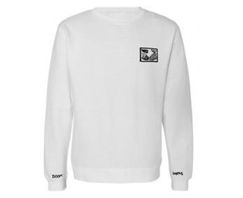 Doom Sayers Club Sweat White