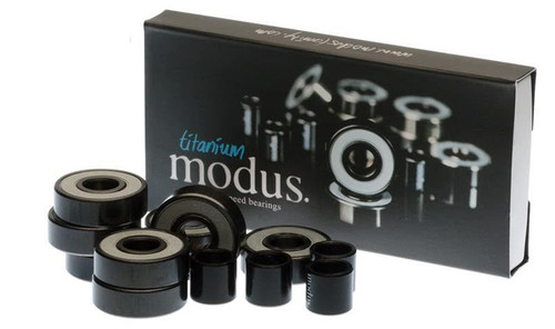 MODUS TITANIUM SKATEBOARD BEARINGS SET