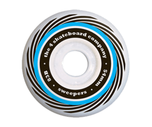 THE 4 SKATEBOARD CO. 54MM SWEEPER WHEELS