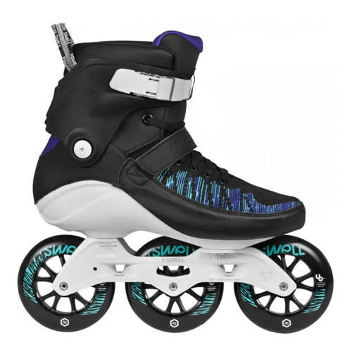 Powerslide Roller Blades – Swell Trinity 110 Voltage Blue Inline Skates