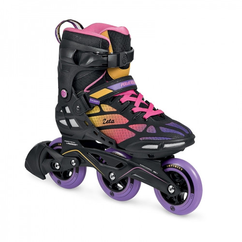 Powerslide Skates – Zeta Black/Tropical