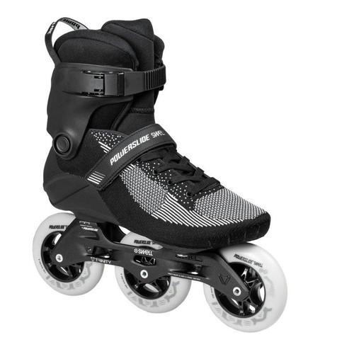 POWERSLIDE SWELL LITE 100MM BLACK