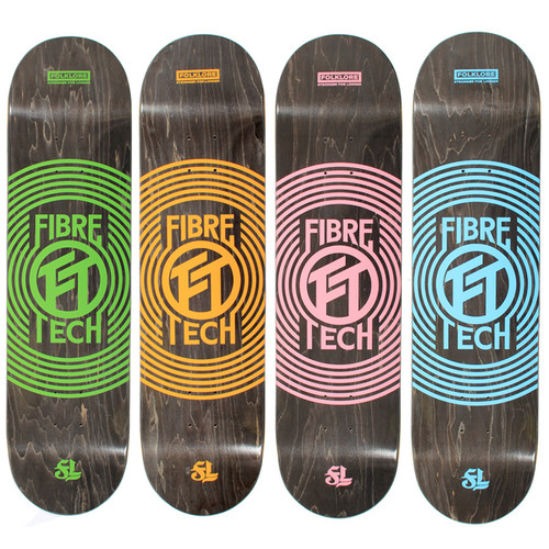 Folklore Ripple Fibre Tech Deck