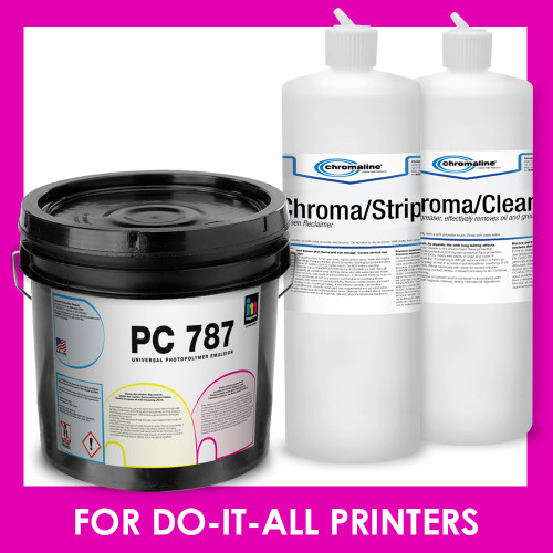screen printing bundle for printers that do it all