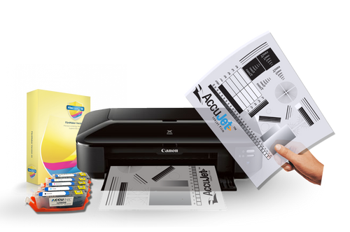 Canon Pixma ix6820 printer package with RIP for screen printing