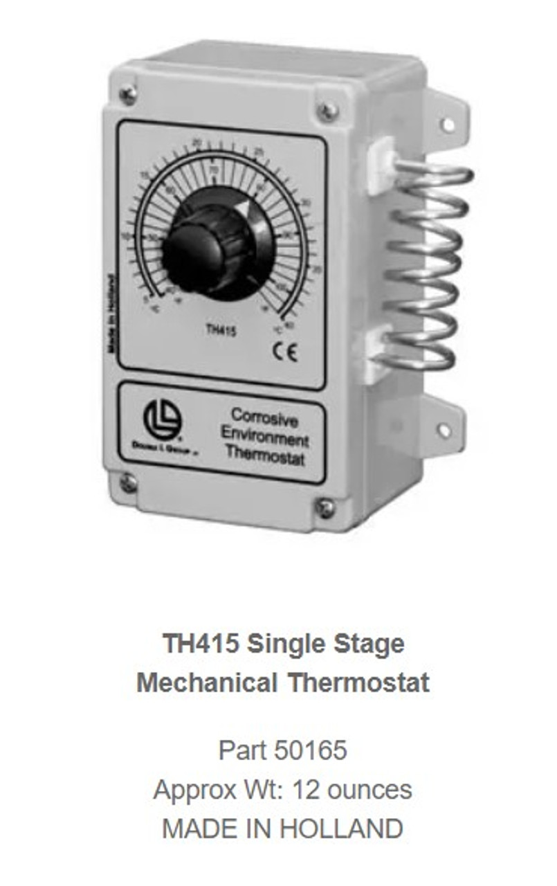TH415 SINGLE STAGE THERMOSTATE
