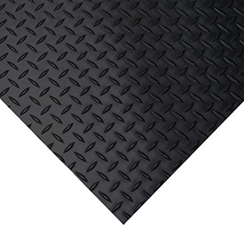 """Poly Board 4' x 8'x 1/2"""" Deck Plate Finish"""