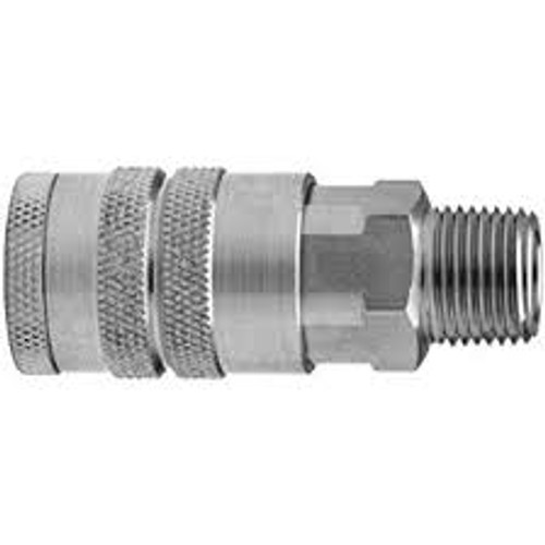 "Socket 1/4"" 304 Stainless Steel Male Pipe Thread"