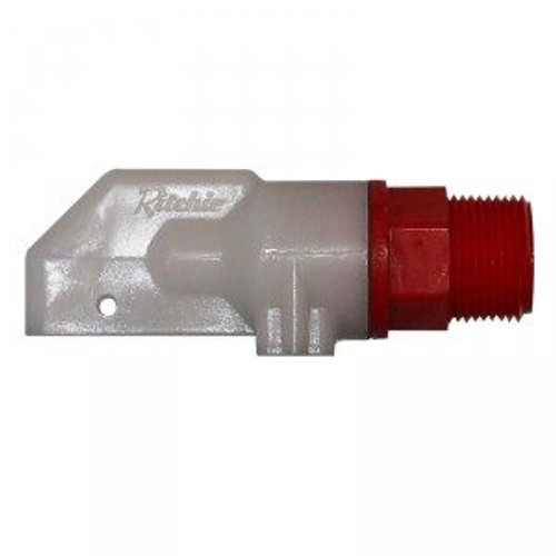 RED MALE CATTLE VALVE