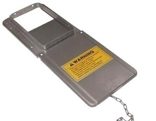 SLIDE GATE & TRANSFER PLATE SINGLE W HARDWARE