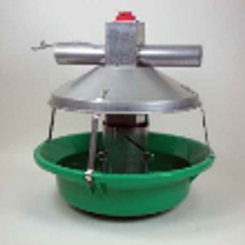 Green Model ATF Feeder Assembly w/Non-Swing Down Pan