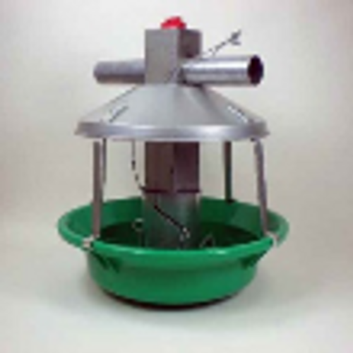 Model ATF Plus Green Feeder w/Plastic Pan and Swing Down Pan