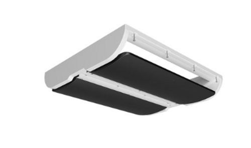 ACTUATED CEILING INLETS