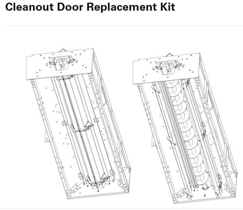 NECO CLEANOUT DOOR REPLACEMENT KIT